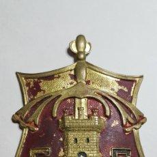 Militaria: MAGNÍFICA PLACA BRAZO CUERPO EJERCITO CASTILLA GUERRA CIVIL. Lote 186431881