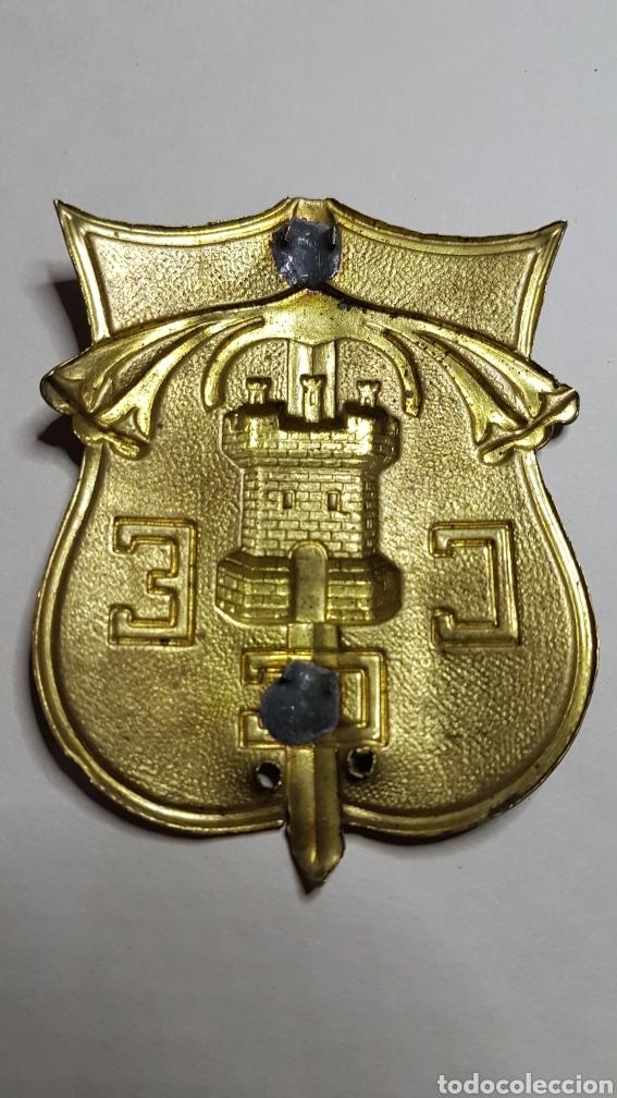 Militaria: Placa brazo cuerpo ejercito de castilla guerra civil - Foto 2 - 186432158