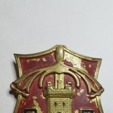 Militaria: PLACA BRAZO CUERPO EJERCITO DE CASTILLA GUERRA CIVIL. Lote 186432158
