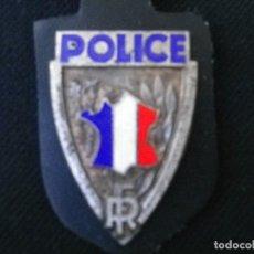 Militaria: PLACA DE PECHO DE LA POLICIA DE PARIS-(FRANCIA). Lote 187215752