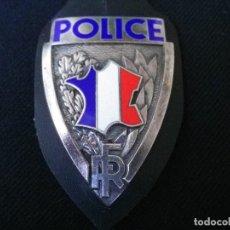 Militaria: PLACA DE PECHO DE LA POLICIA DE PARIS-(FRANCIA).. Lote 187215855