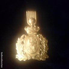 Militaria: INSIGNIA PARA GORRA CUERPO DE CARABINEROS EPOCA ALFONSO XIII. Lote 187432060