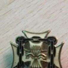 Militaria: PINS DE OJAL EXCAUTIVOS, FALANGE ESPAÑOLA.FABRICANTE GICAR S.L. BARCELONA. Lote 190151326