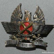 Militaria: ROKISKI O ALAS DE AVIACION, INSIGNIA DISTINTIVO DE COOPERACIÓN AEROTERRESTRE PER UNIONE AD VICTORIAM. Lote 190200177