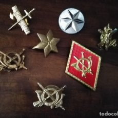 Militaria: LOTE DE 7 INSIGNIAS ESPAÑOLAS DISTINTAS. . Lote 190850437