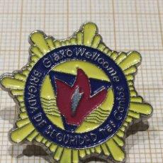 Militaria: PIN BRIGADA DE SEGURIDAD TRES CANTOS GLAXO WELLCOME. Lote 191403771