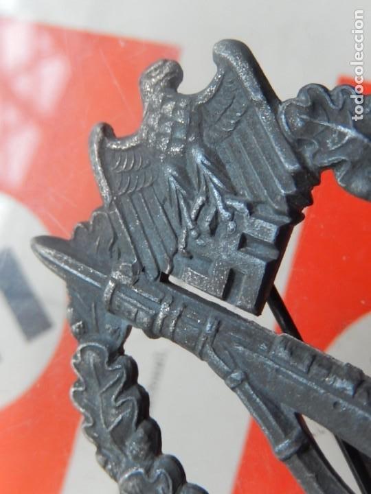 Militaria: EIO. Alemania. Distintivo Asalto de la Infantería.Tercer Reich. II Guerra Mundial. - Foto 6 - 191509056
