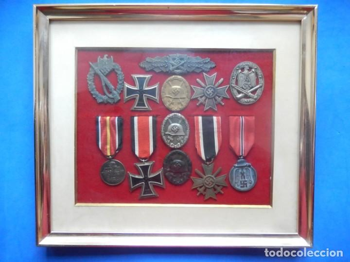 Militaria: EIO. Alemania. Distintivo Asalto de la Infantería.Tercer Reich. II Guerra Mundial. - Foto 20 - 191509056