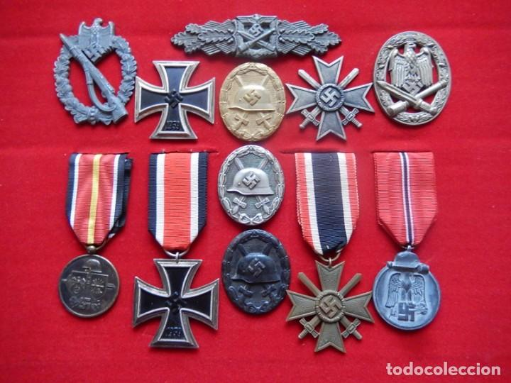 Militaria: EIO. Alemania. Distintivo Asalto de la Infantería.Tercer Reich. II Guerra Mundial. - Foto 21 - 191509056