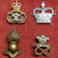 Militaria: ORIGINAL - LOTE DE INSIGNIAS BRITÁNICAS - REINO UNIDO - CANADÁ - DINAMARCA - POSTGUERRA COMMONWEALT. Lote 191592741