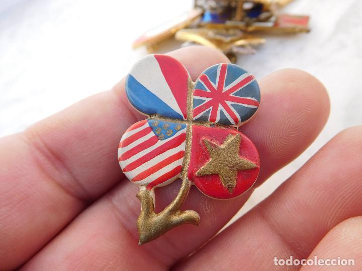 INSIGNIA ALIADOS WW2 (Militar - Insignias Militares Internacionales y Pins)
