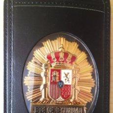 Militaria: PLACA JEFE DE SEGURIDAD CON CARTERA.. Lote 191818593