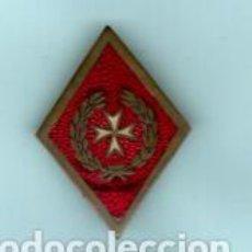 Militaria: INSIGNIAS MILITAR DE SANIDAD EN METAL ESMALTE VERDOS FOTOS . Lote 192047676