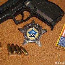 Militaria: PLACA DE POLICIA CHICAGO. Lote 192268416