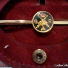 Militaria: ARTILLERIA CAÑONES BAJO CORONA MUNICION G. R. PASADOR MILITAR 6 CMS LARGO. Lote 192268456