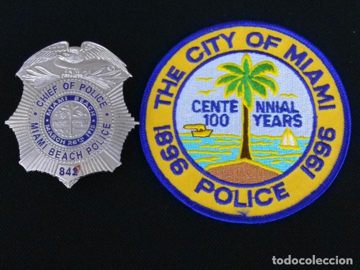 Miami FL Pin Insignia Usa
