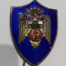 Militaria: INSIGNIA MILICIAS UNIVERSITARIAS NAVALES. MARINA. ÉPOCA FRANCO. Lote 192652832