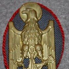 Militaria: ESCARAPELA PARA GORRA DE PLATO ANTIGUA POLICIA ARMADA LOS GRISES. Lote 193193123