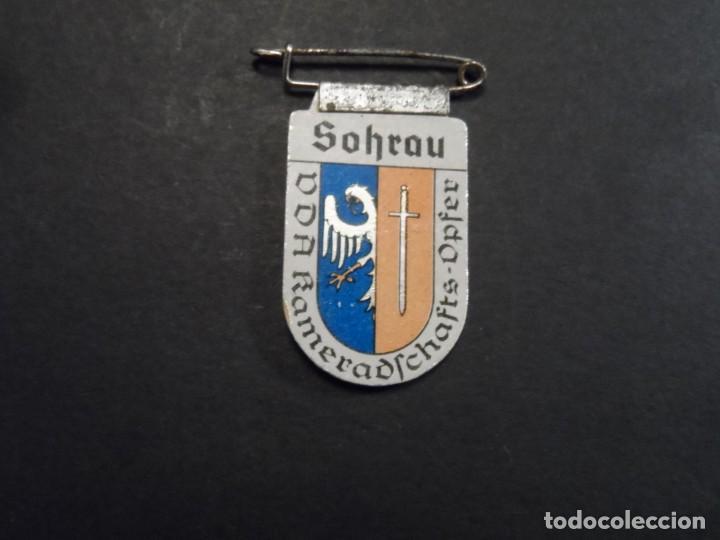 INSIGNIA SOLAPA SOHRAU-ŻORY. WINTERHILF-AYUDA DE INVIERNO. ACERO. III REICH. AÑOS 1939-45 (Militar - Insignias Militares Extranjeras y Pins)
