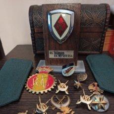 Militaria: GRAN LOTE DE INSIGNIAS OBJITOS MILITARES. Lote 194200941