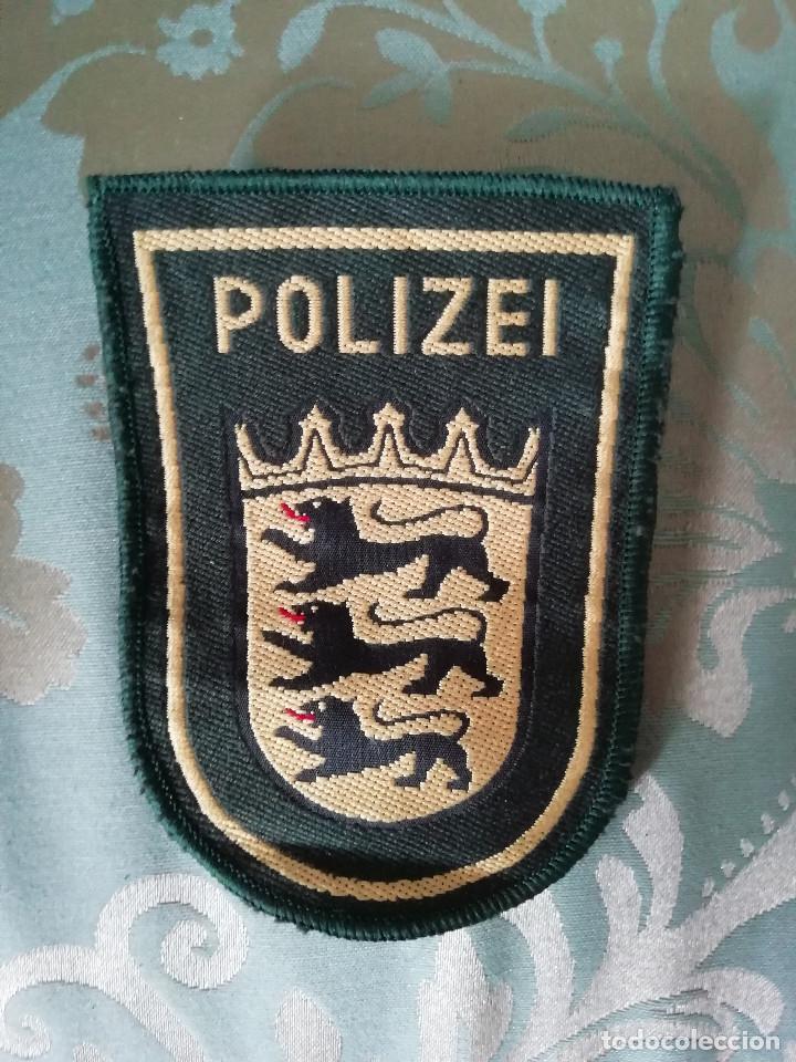 ESCUDO DE BRAZO POLICÍA (ALEMANIA) (Militar - Insignias Militares Extranjeras y Pins)