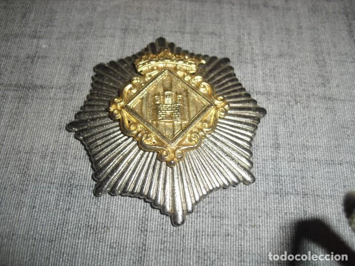 PLACA POLICIA EPOCA FRANCO C.1 (Militar - Insignias Militares Españolas y Pins)