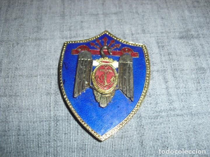 PLACA MILICIAS SEU MARINA C.1 (Militar - Insignias Militares Españolas y Pins)