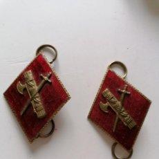 Militaria: 2 ROMBOS GUARDIA CIVIL ESMALTADOS. Lote 194259563