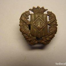 Militaria: INSIGNIA ESPAÑOLA ANTIGUA DEL SOMATEN, PRINCIPIOS SIGLO XX, CASTELLS, BARCELONA.. Lote 194313892