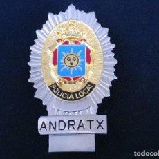 Militaria: PLACA DE PECHO DE ANDRATX ( BALEARES ). Lote 194520893