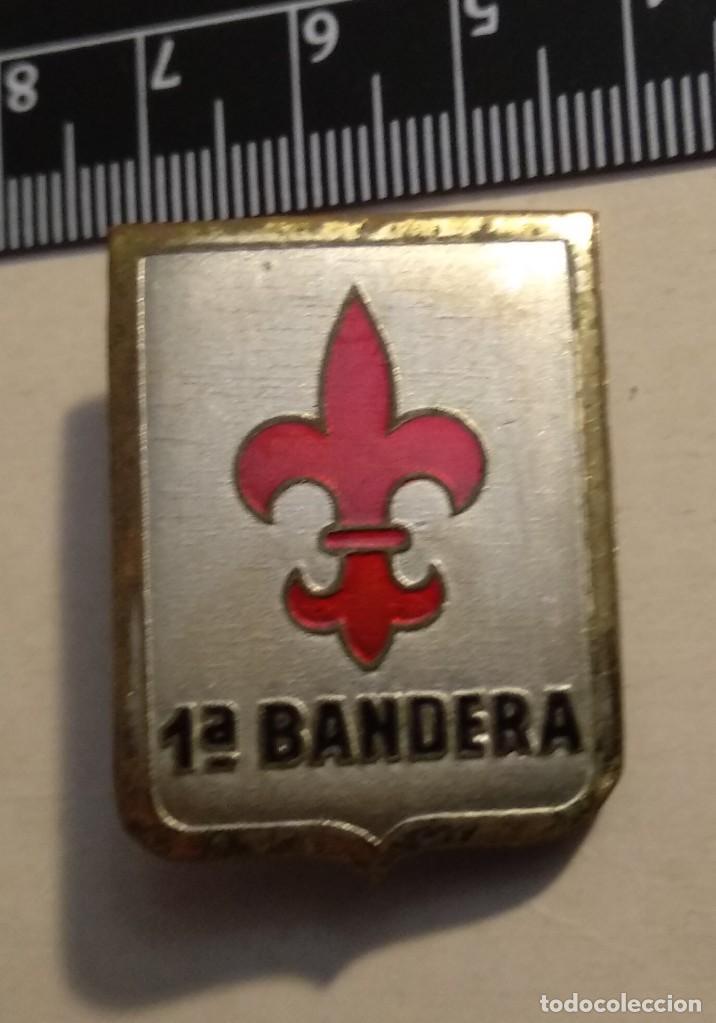 EMBLEMA BRIGADA PARACAIDISTA BRIPAC 1 BANDERA (Militar - Insignias Militares Españolas y Pins)