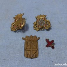 Militaria: * ANTIGUO LOTE DE INSIGNIA DE LA DIPUTACION DE BARCELONA, MOSSOS D'ESQUADRA, ORIGINALES. ZX. Lote 194535773