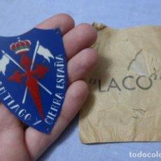 Militaria: * ANTIGUO EMBLEMA DE BRAZO DE CABALLERIA NACIONAL, EN SU SOBRE ORIGINAL LACO, GUERRA CIVIL. ZX. Lote 194539911