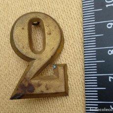 Militaria: NUMERO 2 GRANDE EPOCA ALFONSINA. Lote 194616888