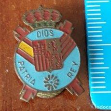 Militaria: INSIGNIA MILITAR DIOS PATRIA Y REY. Lote 194635595