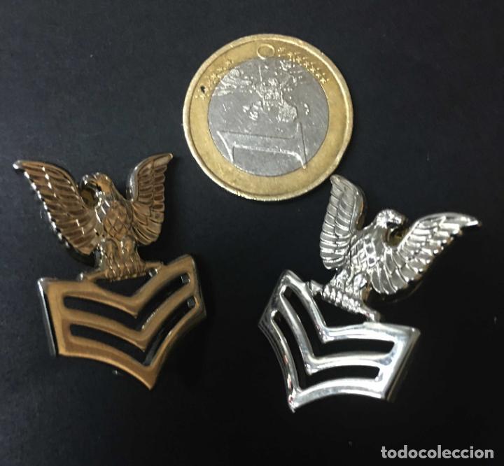 2 PLATEADAS USA NAVY (Militar - Insignias Militares Extranjeras y Pins)