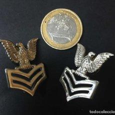 Militaria: 2 PLATEADAS USA NAVY. Lote 194708923