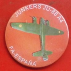 Militaria: JUNKERS JU-88 A4. CHAPA NUEVA DE 57MM. Lote 194751373