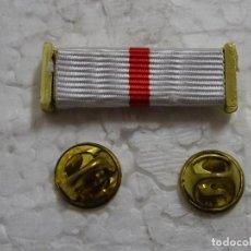 Militaria: PASADOR DE MEDALLA AL CRUZ AL MÉRITO MILITAR. DISTINTIVO BLANCO. . Lote 194883038