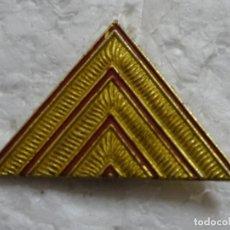 Militaria: INSIGNIA EJÉRCITO ESPAÑOL. SARGENTO ANGULOS. TRIÁNGULO. Lote 194885026