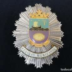 Militaria: ANTIGUA PLACA DE PECHO DE TIAS ( CANARIAS ). Lote 194887222