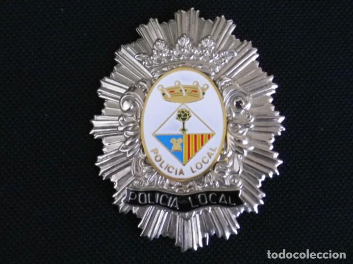 PLACA DE PECHO DE CALONGE ( GIRONA ) (Militar - Insignias Militares Españolas y Pins)
