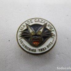 Militaria: PIN EMBLEMA SOLAPA EA EJÉRCITO AIRE ALA DE CAZA 6. Lote 194921695