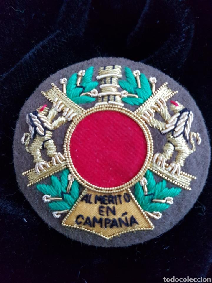 PARCHE AL MERITO EN CAMPAÑA (Militar - Insignias Militares Españolas y Pins)