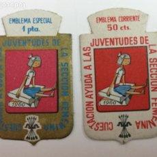 Militaria: AUXILIO SOCIAL SECCIÓN FEMENINA . Lote 195104092