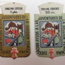 Militaria: AUXILIO SOCIAL SECCIÓN FEMENINA . Lote 195104205