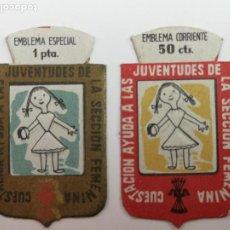 Militaria: AUXILIO SOCIAL SECCIÓN FEMENINA . Lote 195104551