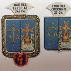 Militaria: AUXILIO SOCIAL SERIE B-8 ESCUDO DE ASTURIAS . Lote 195106580