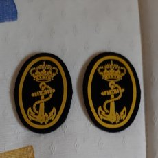 Militaria: EMBLEMAS ARMADA ESPAÑOLA DE BOINA. Lote 195131601
