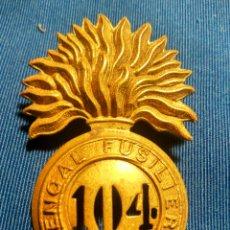 Militaria: EMBLEMA FUSILEROS BENGALIES. Lote 195183738